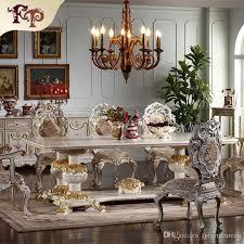 großhandel europäische antike esszimmermöbel handgeschnitzte esszimmergarnitur italienische möbel französische möbel klassischer esszimmerstuhl
