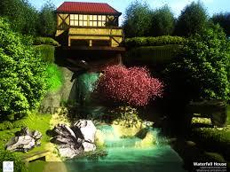 100 Water Fall House ArtStation Fall Rafael Soares