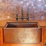 Copper Tiles For Backsplash by Kitchen Backsplash Design Metal Copper Tiles For Kitchen