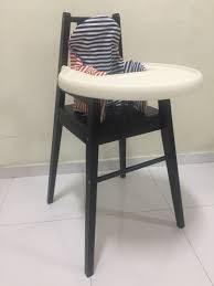 60% OFF! IKEA Blames Baby High Chair With Tray And Cushion ... Iktilopghchairreviewweaningwithtraycushion Highchair With Tray Antilop Light Blue Silvercolour Baby Hacks Ikea Antilop High Chair 9mas Easymat On Ikea High Chair Babies Kids Nursing Feeding Carousell Cushion Cushion Only White Price In Singapore Outletsg Ikea Price Ruced Baby