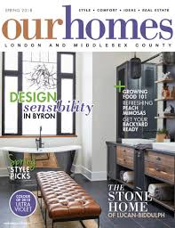 100 Ca Home And Design Magazine On Stands OUR HOMES London Spring 2018 Our S