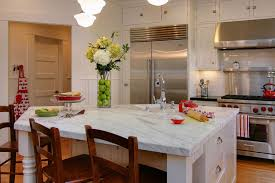 Modern Vases Decor Kitchen Traditional With Breakfast Bar Eat In Image By RemodelWest