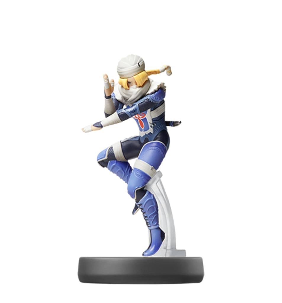 Nintendo Super Smash Bros Amiibo Figure - Sheik