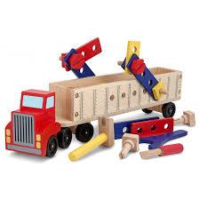 100 Melissa And Doug Trucks Big Rig Building Truck Wooden Play Set