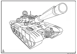 Tank Free Printable Coloring Pages