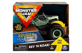 100 Monster Truck Kids Jam Rev N Roar Soldier Fortune Shopaholic