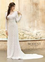 TR11831 By Mon Cheri Modest Wedding Dresses