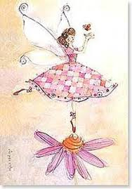100 Robbin Rawlings Pink Fairy Birthday Greeting Card