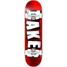 Baker Skateboard BRAND LOGO FOIL 8.0