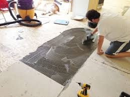 Preparing Wood Subfloor For Tile by Why Particle Board Subfloors Are Bad Chris Loves Julia