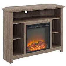Southern Enterprises Redden Corner Electric Fireplace Tv by Corner Fireplace Tv Stand Target