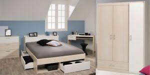 details zu schlafzimmer set most 75 schreibtisch kommode kleiderschrank bett 140x200cm