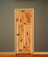 3 Panel Shaker Style Knotty Alder Rustic 6 8 80 Farmhouse Interior DoorsRustic
