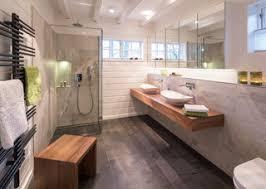 bad in kleinem blockbohlenhaus contemporary bathroom