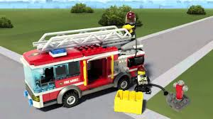 Lego City Games Fire Truck