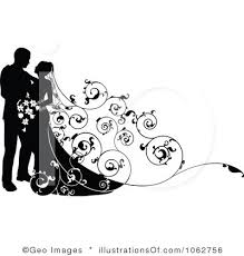 Wedding Couple Free Clipart 1