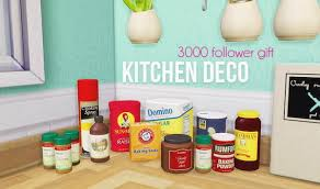 LinaCherie Kitchen Deco 11 Meshes By Living Dead Girl 3000 Follower Gift