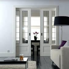 Fascinating Dining Room Doors Beautiful Sliding Best Interior Ideas On Office