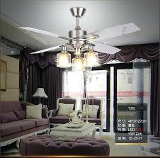 Dining Room Ceiling Fan Retro Light Fans Living Minimalist Modern Bedroom Wooden Leaf Remote Formal