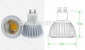 shop dimmable led light 6w gu10 led spotlight high power