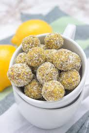 Lemon Turmeric Energy Balls Full Of Beautiful Citrus Aroma Enriched With Healing Spice