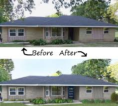 Houses Design Plans Colors Stunning Ranch Style Home Remodel Before And After 48 For Your