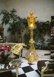 pompöös by casa padrino barock laterne stehleuchte gold pompööse barock laterne designed by harald glööckler