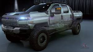 100 Military Chevy Truck Chevrolet Silverado ZH2 Wants To Be The S Next Fuel Cell