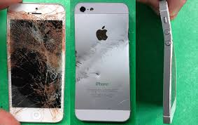 How much is a pletely trashed iPhone worth