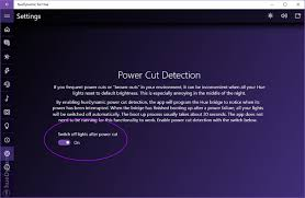 philips hue lights power cut detection huedynamic for philips hue