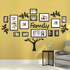 Family Live Laugh Love Wall Decor Hallway Tree Collage Picture Photo
