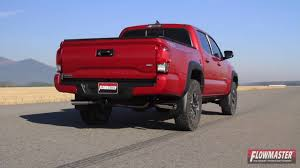 100 Toyota Truck Performance Parts 2016 Tacoma Exhaust System Kit Flowmaster