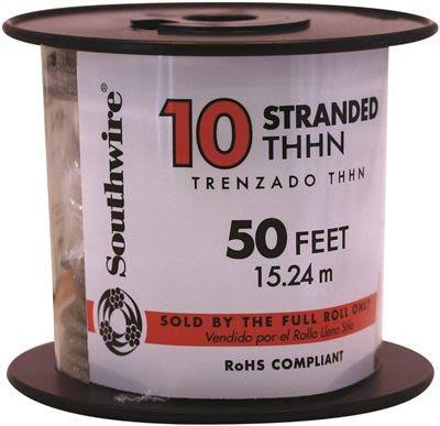 Southwire 22973236 THHN Building Wire - 10awg, 50'