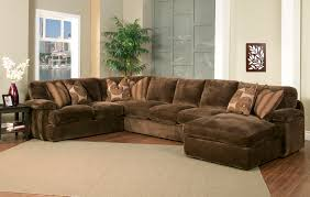 Grey Corduroy Sectional Sofa by Robert Michaels Sofas And Sectionals