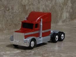 ERTL 1/64 SILVER Red Semi Truck Case IH Farm Toy Peterbilt Kenworth ...