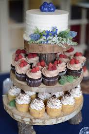 Rustic Cake And Cupcakes
