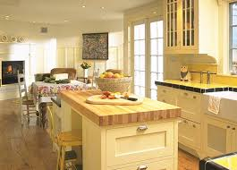 Tips & Ideas Eat In Kitchen With Fireplace And French Door Also