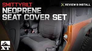 Jeep Wrangler Smittybilt Neoprene Seat Cover Set Front/Rear (2007 ...