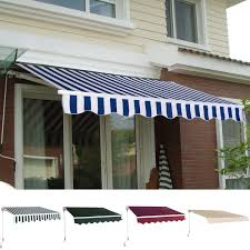 Manual Patio 8.2' × 6.5' Retractable Sunshade Awning - Canopies ... Offroad Outdoor Camping Retractable Side Awning Color Customized Patio Awnings Manchester Connecticut Car Wall Rhino Rack Chrissmith Vehicle Suppliers And Manufacturers At Cascadia Roof Top Tents Rv For Pop Up Campers Fres Hoom 44 Vehicle Awning Bromame On A Food Truck New Haven Houston Tx