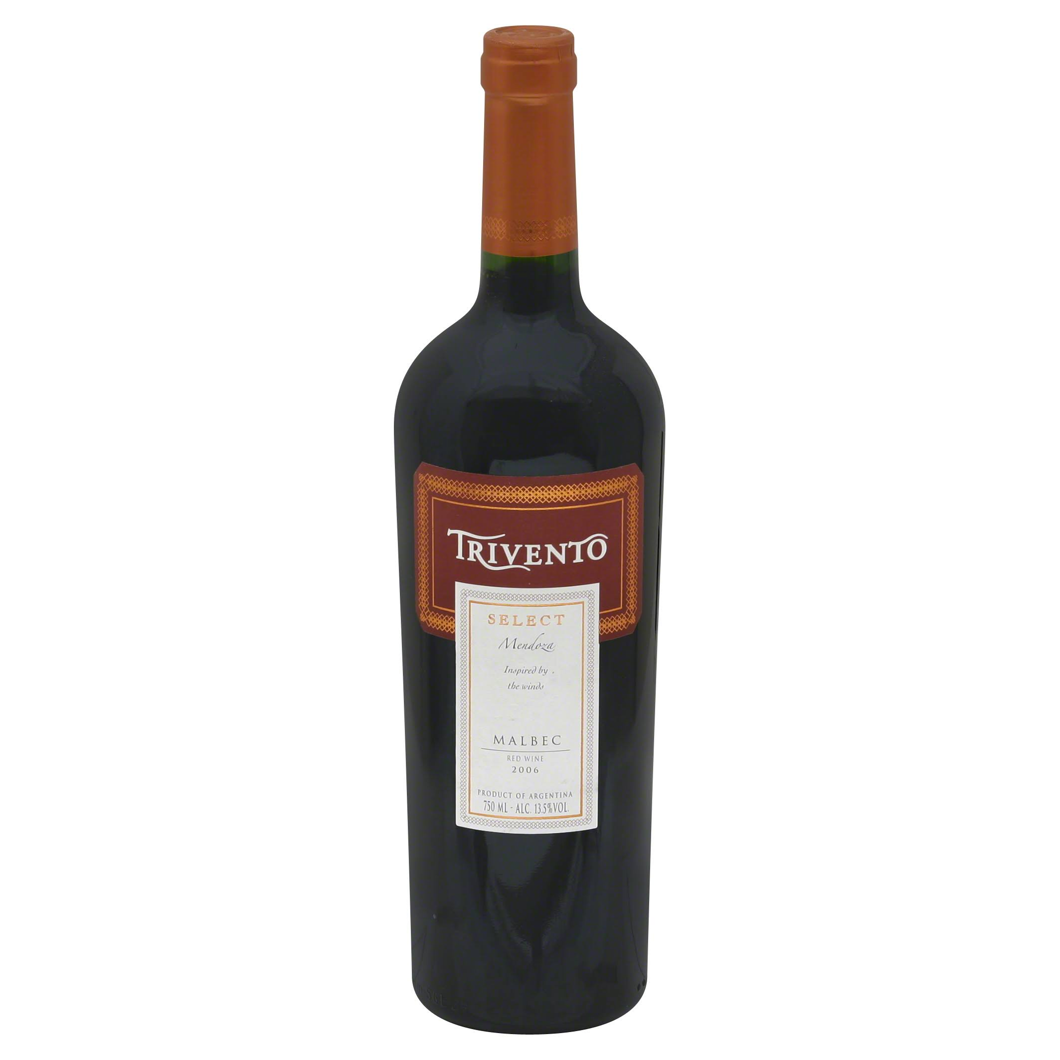 Trivento Select Malbec, Mendoza, 2006 - 750 ml