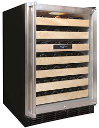 Amazoncom 1 Door Front Venting Full Stainless Steel Bar Fridge