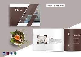 100 Interior Design Mag 28 Pages Azine Template