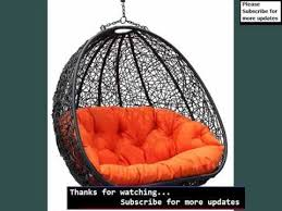 Hanging Papasan Chair Frame by Wicker Hanging Chair Wicker Hanging Chair Youtube