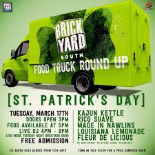 100 Food Trucks Baton Rouge TONIGHT In Front Of The 13gate StPattys Truck Roundup
