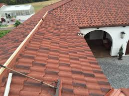 decra tile steel shingle roof clover roofing