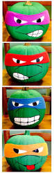 Free Ninja Turtle Pumpkin Carving Patterns by Here Are Some No Carve Pumpkin Ideas That Kids Will Love Instead