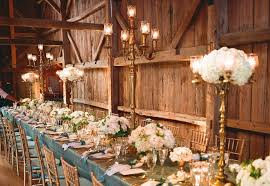Rustic Reception Elegance Wedding Venue And Decor
