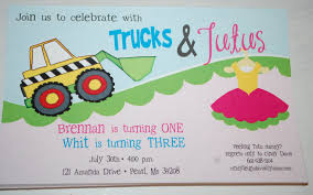 Baby Face Design: Trucks And Tutus Birthday Party Invitations 9 Of The Best Kids Birthday Party Ideas Gourmet Invitations Cstruction Invite Dumptruck Invitation 5x7 Free Printable Cstruction Invitations Idevalistco Tandem Dump Trucks For Sale Also Truck Safety Procedures And Gmc 25 Digger Fill In 8th Card Luxury Boy Tonka Classic Toy Amazoncouk Toys Games Transportation Train Invite Car Play Everyday Mom