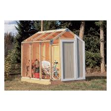 6 X 6 Wood Storage Shed by Fast Framer Universal Storage Shed Framing Kit U2014 Universal Roof