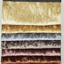 ameublement canapé wx101 écrasé velours tissu pour tissu d ameublement canapé